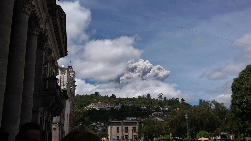 Santiaguito - 06/29/2016 - photo Sismos in Guatemala