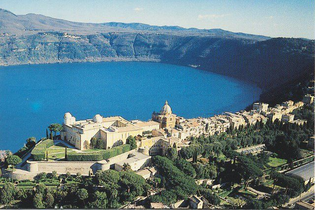 Castel Gandolfo and Lago Albano - photo all posters