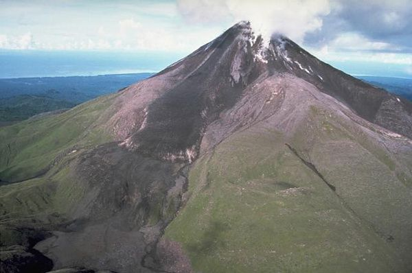 The Bagana volcano in Papua New Guinea. - Via GVP