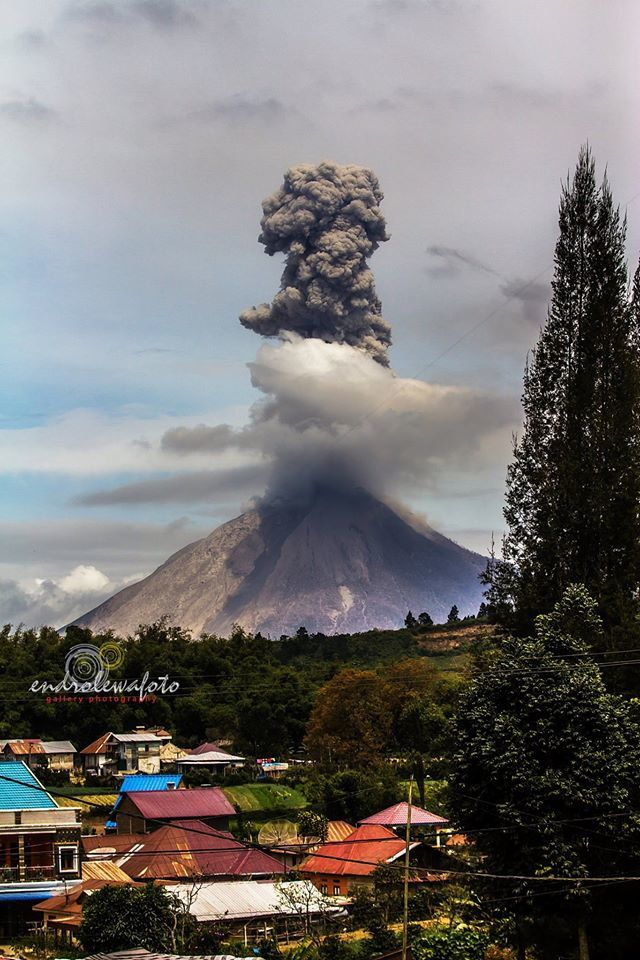 Sinabung - 28.07.2016 / 11:06 - photo endrolewa