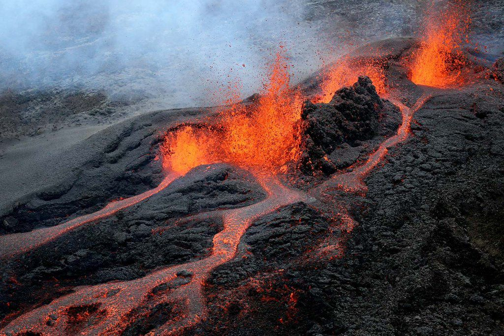 Last activity of Piton de La Fournaise on  05/26/2016 - BFMTV
