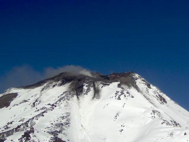 Nevados de Chillan webcam portezuelo 02.08.2016  - Sernageomin