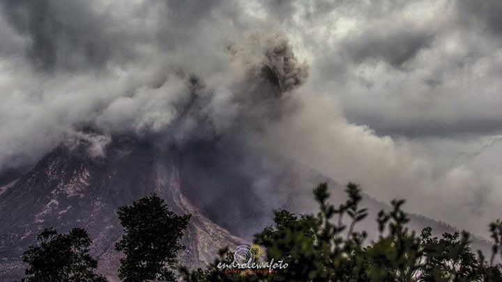 Sinabung - 25.08.2016 / 14h27 - photo endrolewa