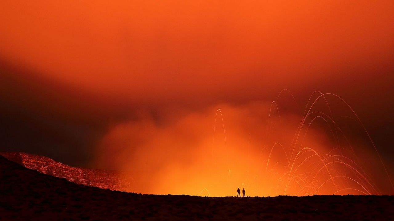 Yasur / Vanuatu - photo Ulla Lohmann when she tested in extreme conditions the new Canon EOS 5D Mark IV
