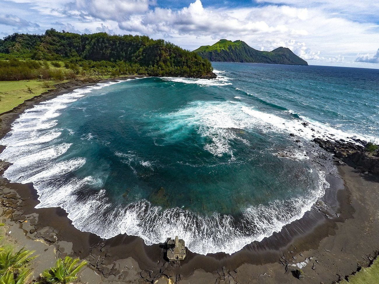 Pagan, a volcanic paradise - Dan Lin photo for The Guardian