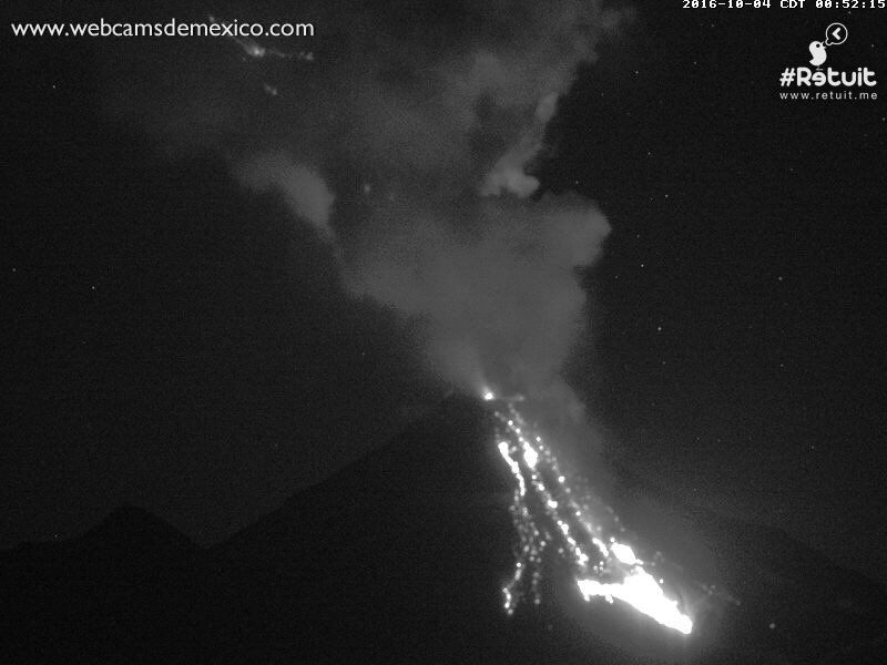 Colima - sismo / Univ. Colima and photo 04.10.2016 / 0:52 / webcamsdeMexico