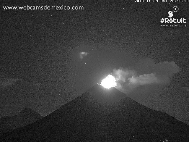 Colima - 09.11.2016 / 20h13 - webcamsdeMexico / Retuit