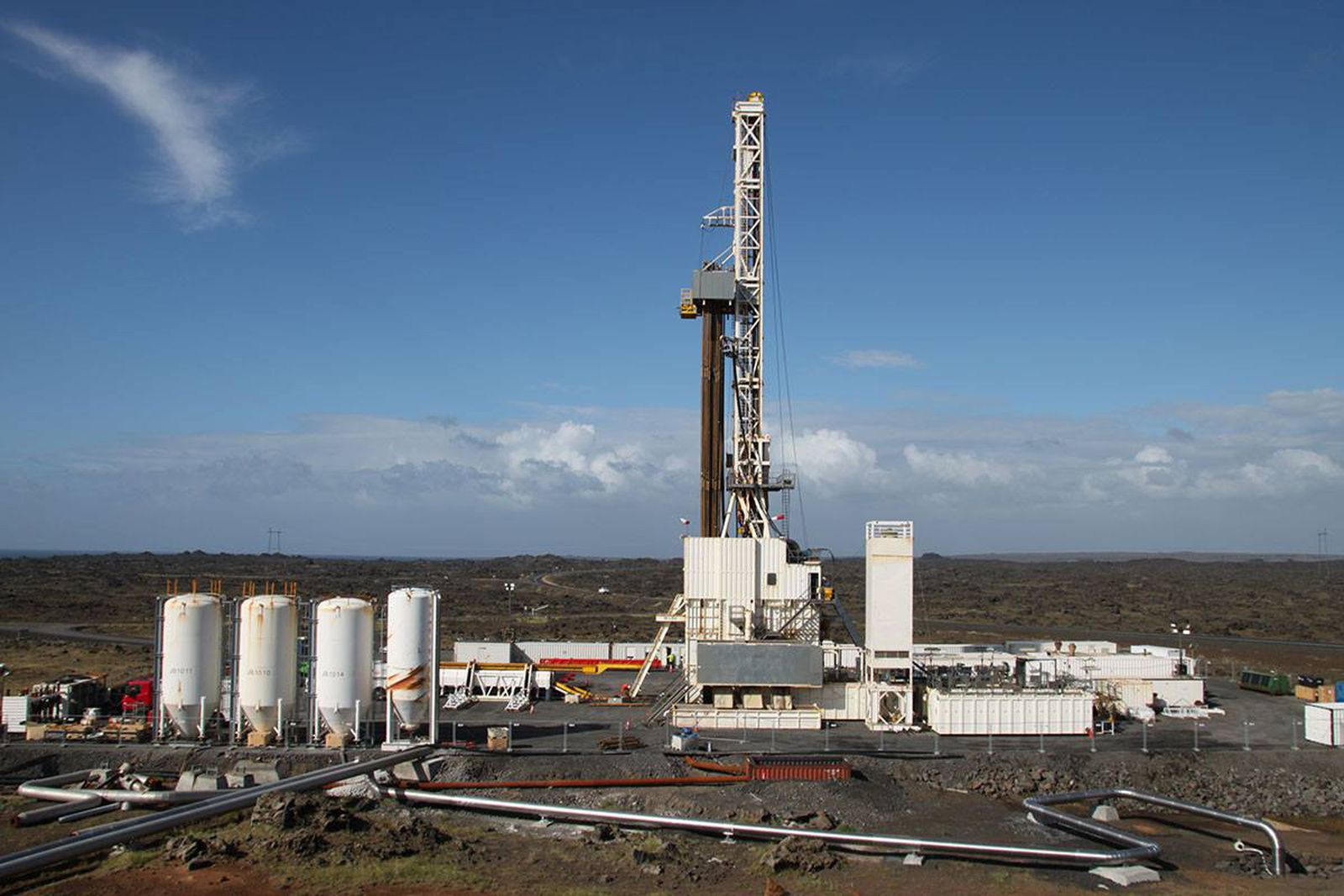 Reykjanes drilling well RN15 / IDDP-2 - photo IDDP