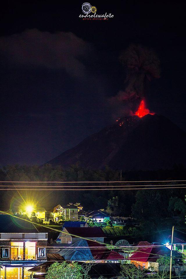 Sinabung - 27.12.2016 / 23h35 - photo endrolewa