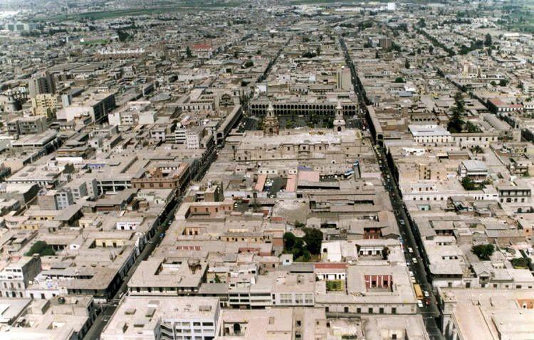 Le centre historique d'Arequipa, classé au Patrimoine de l'Unesco