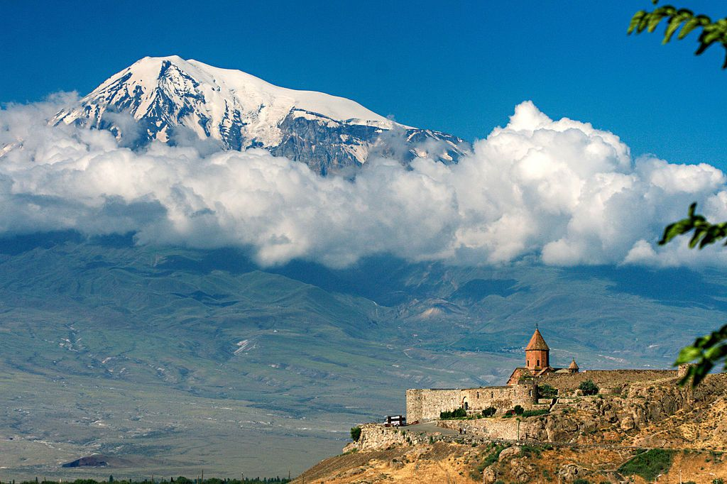 The Armenian Monastery of Khor Virap and Mount Ararat - picture MrAndrew47
