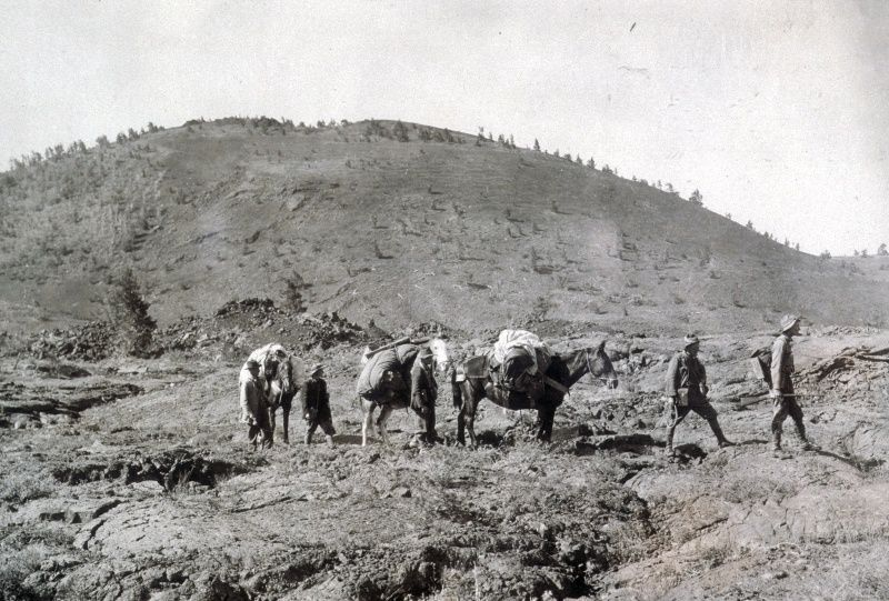 Robert Limbert expedition to Crater of the Moon in 1920-21 - NPS archive