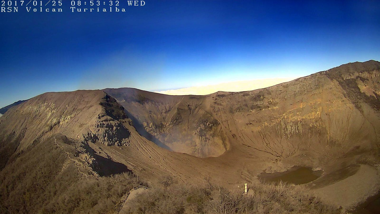 Turrialba - 25.01.2017 / 8h53 - webcam RSN
