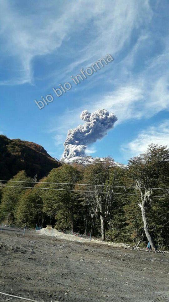 Nevados of Chillan complex - 11.04.2017 / 17h14 - doc video BioBio informa