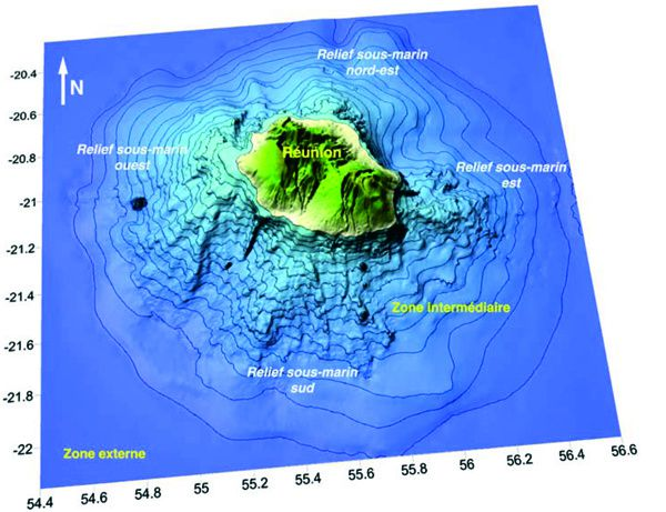Destabilization of the flanks of volcanoes on Reunion Island - Doc.Oehler069