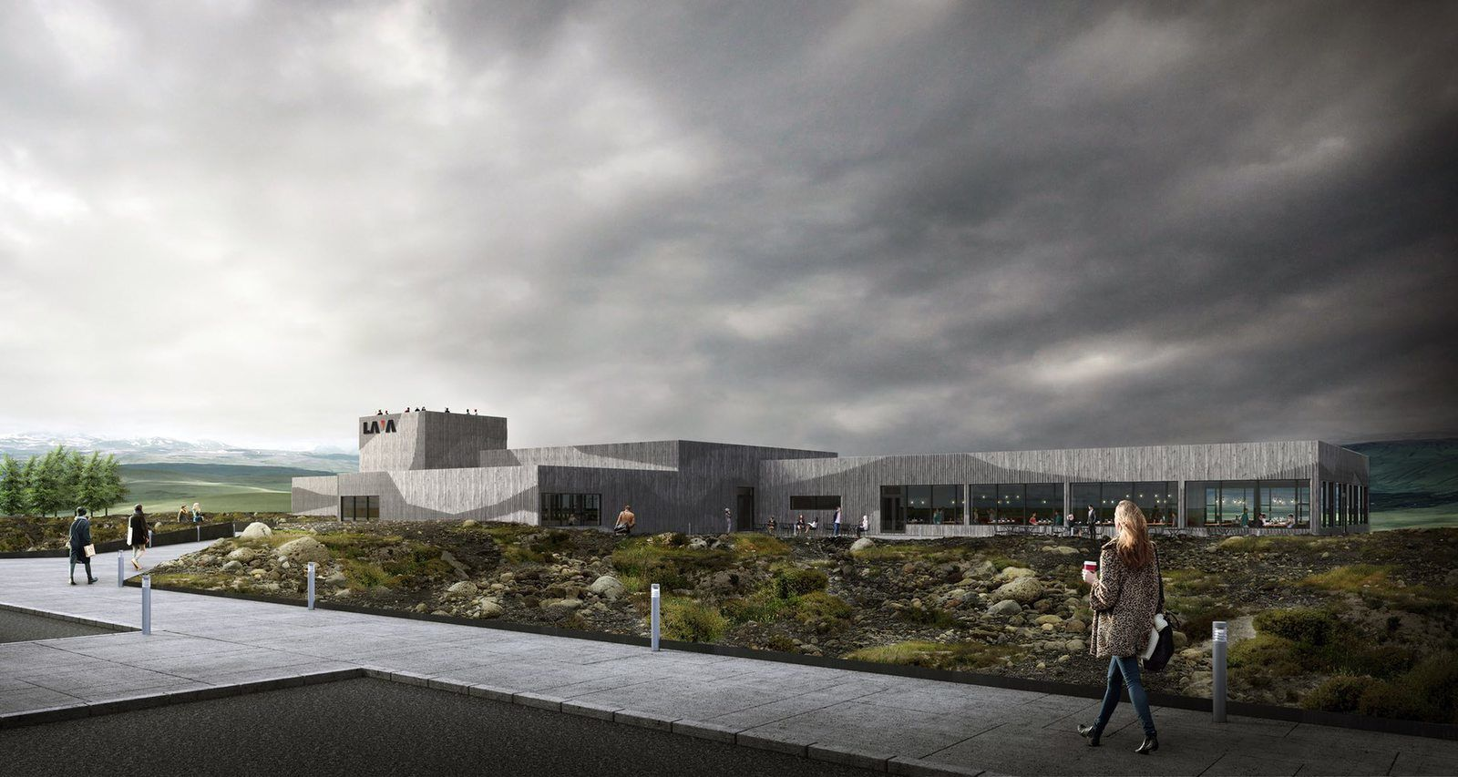 """Image of the new """"Volcano and Earthquake Museum"""" - Doc. Iceland Mag"""