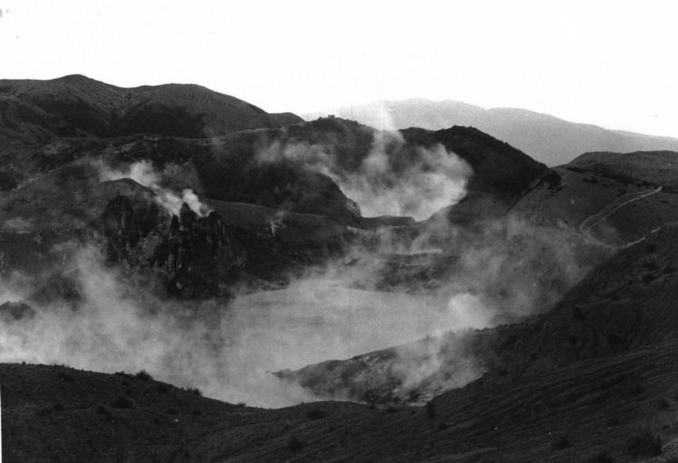 Mt Tarawera - archive footage from the eruption of June 10, 1886 - photo Waimangu Valley via Brad Scott