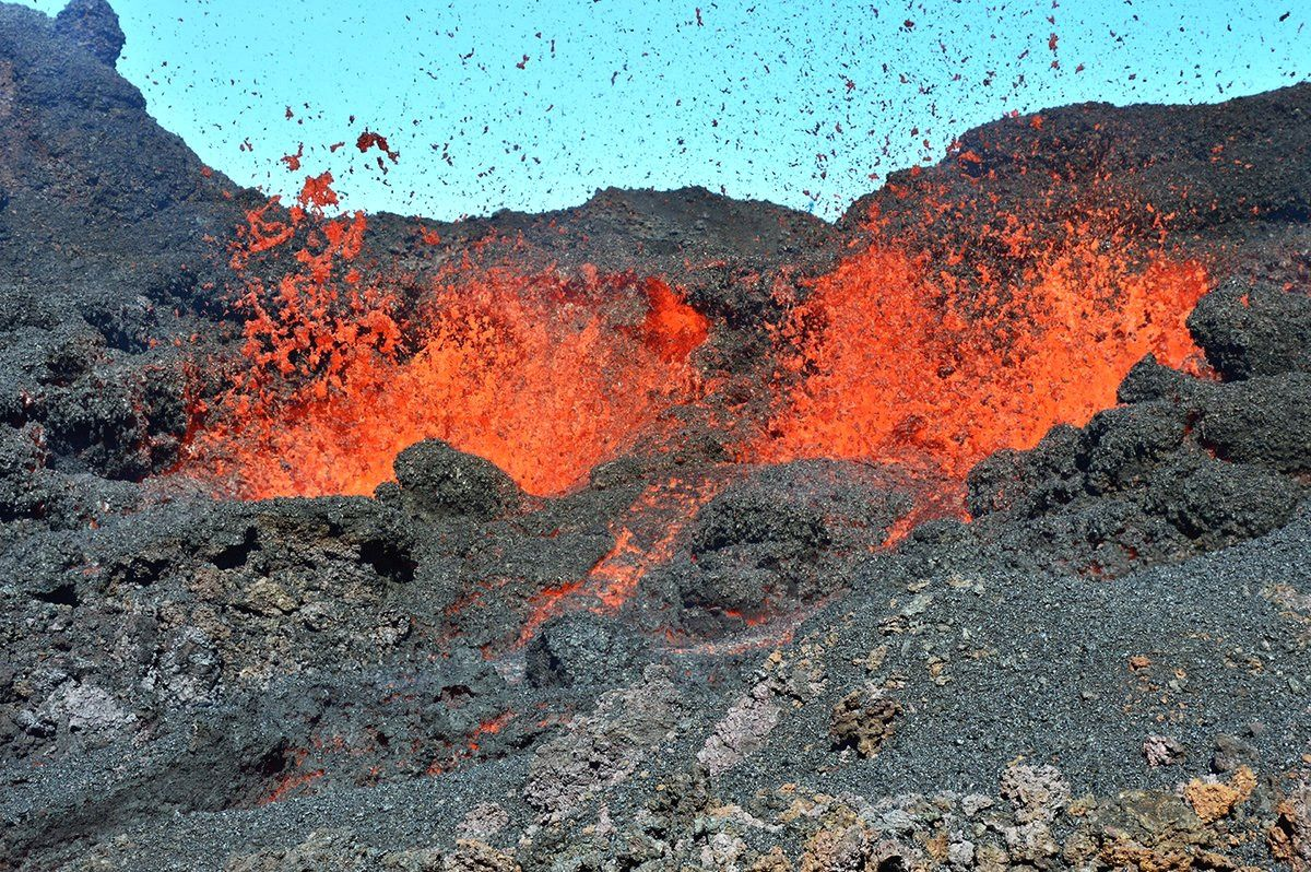 Piton of La Fournaise - 19.07.2017 - Picture of IPGP