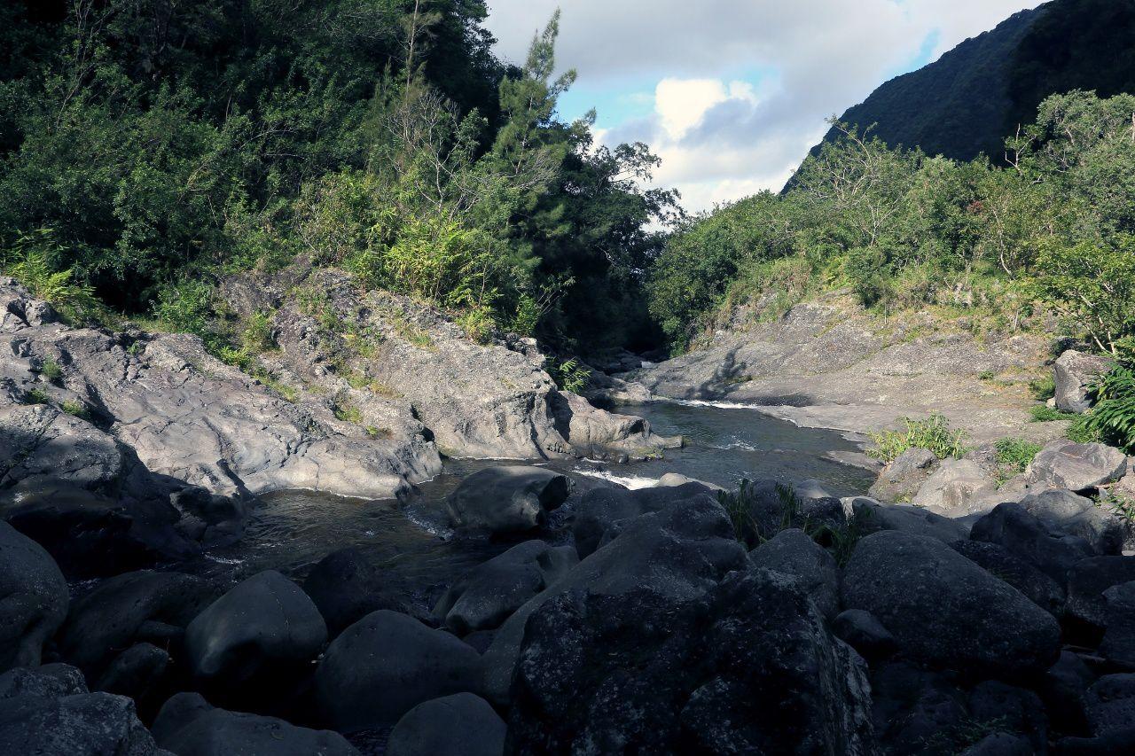 The ravine of the Langevin River - photo © Bernard Duyck / June 2017