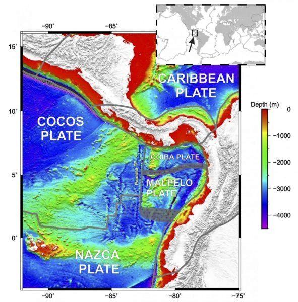 Les plaques d'inadaptation dans le Pacifique ont conduit les scientifiques de l'Université de Rice à la découverte de la plaque de Malpelo entre les îles Galapagos et la côte sud-américaine.