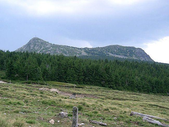 LEs deux sommets du Mont Mézenc - photo PRA