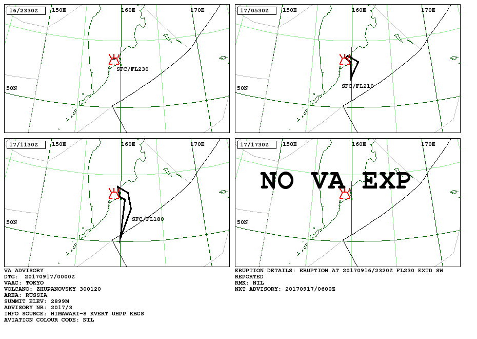 Volcanis ash advisory - a clic to enlarge  - doc. VAAC Tokyo