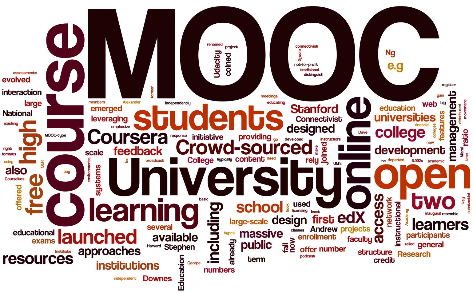 Qu'est-ce qu'un MOOC?