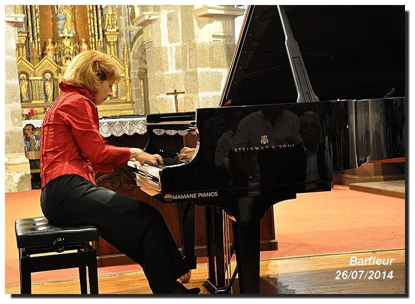 Anne QUEFFELEC Barfleur 26/07/2014