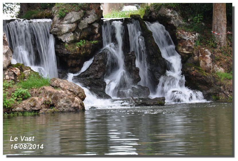 Le Vast : Les cascades dans toute leur splendeur