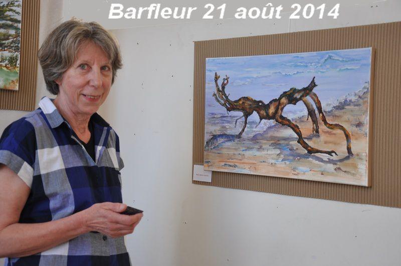 Barfleur : Gérard Riou et Mona Cuvillier exposent