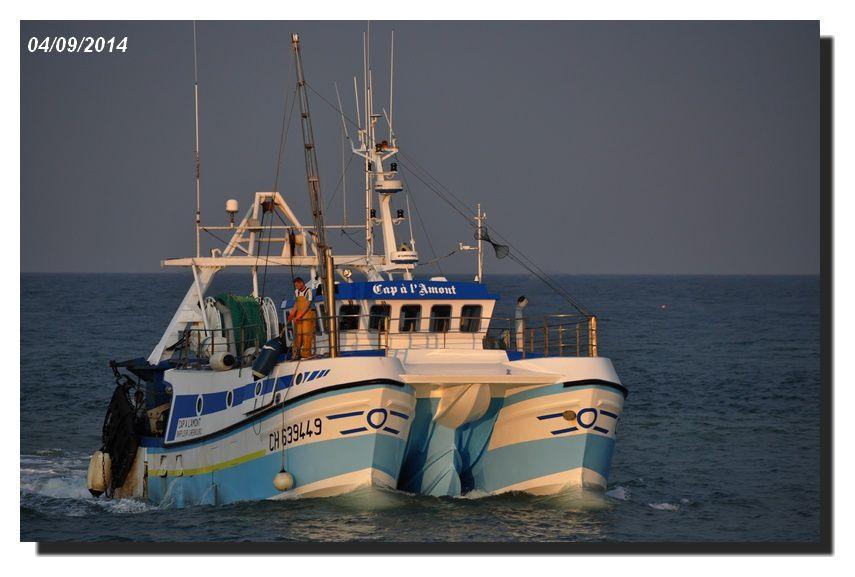 Barfleur : retour au port