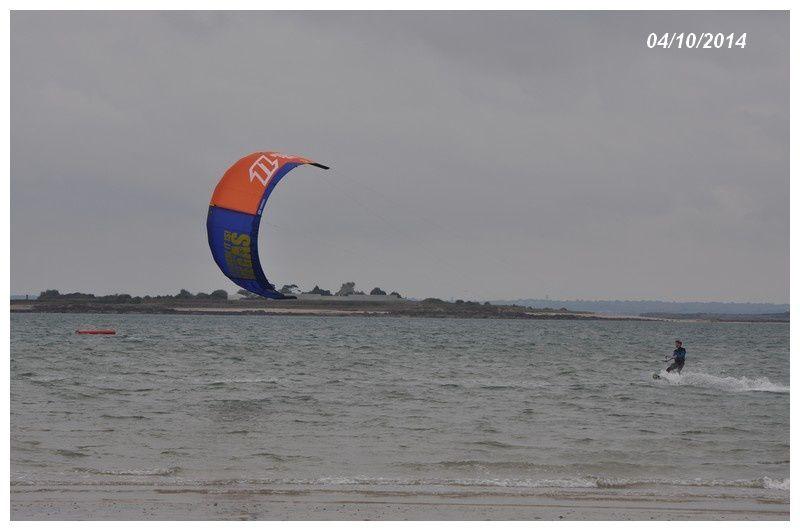 Réville, Jonville : Première compétition Kite Boarder Cross.
