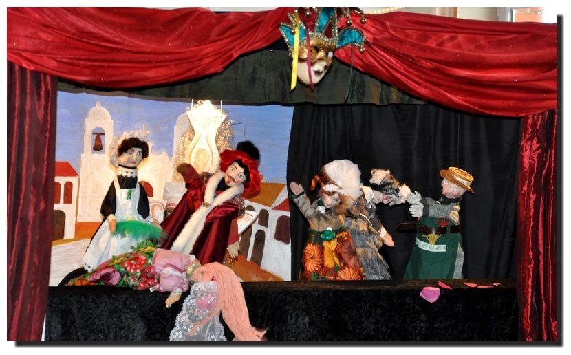 Barfleur : des marionnettes