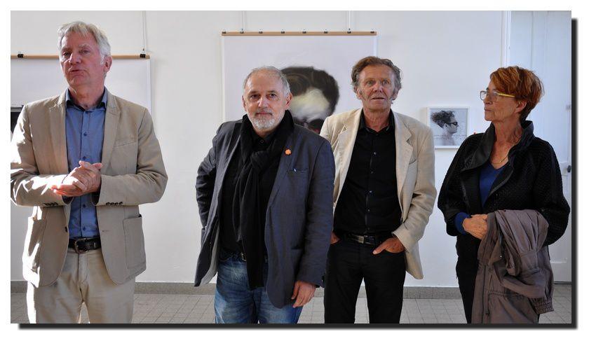 Barfleur : exposition Joël HUBAUT et Denis LEBOUL