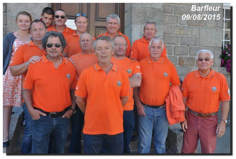 """L'équipage de """"L'Amiral de Tourville"""""""