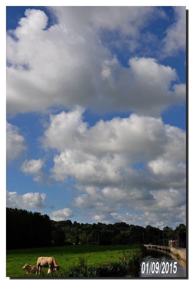 Val de Saire, la couleur du ciel en septembre