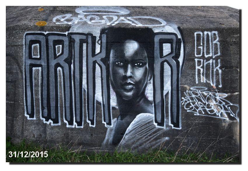 Barfleur L'expression &quot&#x3B;murale&quot&#x3B;