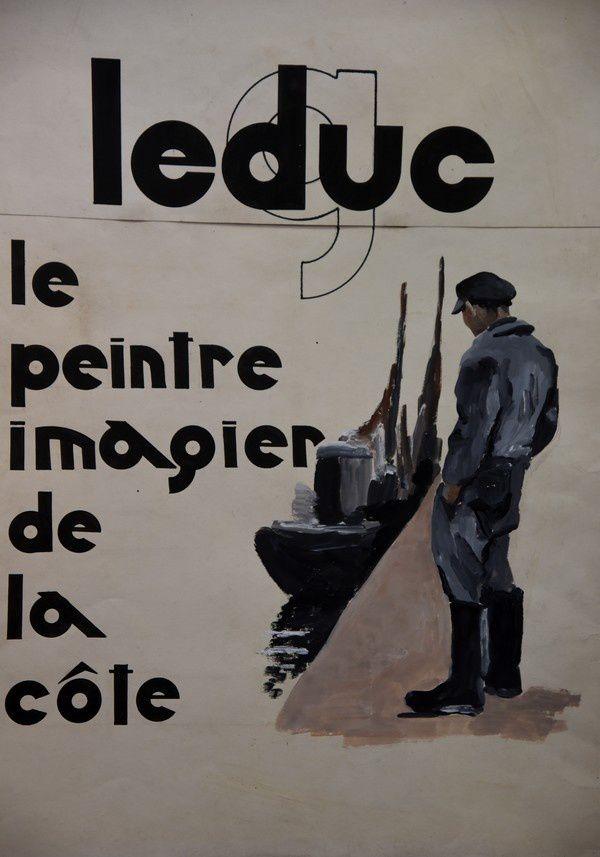Exposition Georges LEDUC, Bricquebec