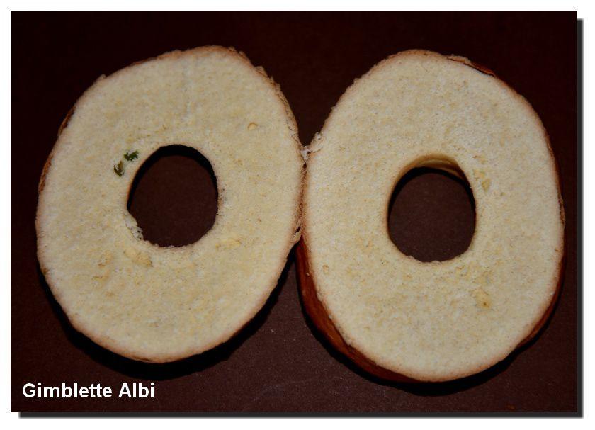 Un échaudé : la gimblette d'Albi
