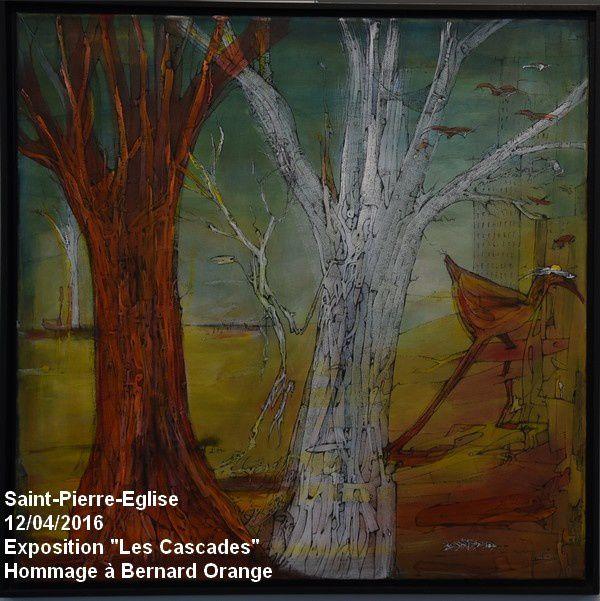 """Saint-Pierre-Eglise, exposition """"les Cascades"""" : les oiseaux"""