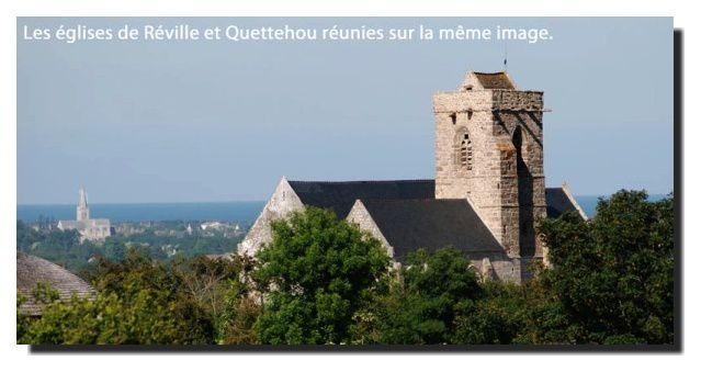 Quettehou: l'église
