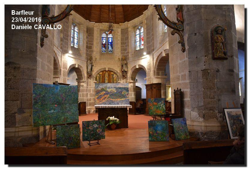 Barfleur : le village fait galerie 23 et 24 avril 2016