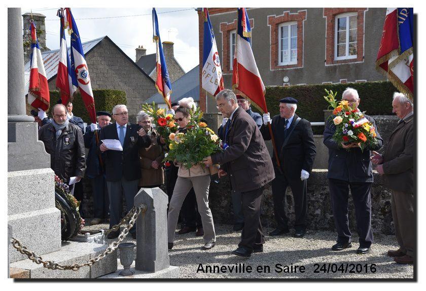 24 avril Journée de la déportation Congrès cantonal des anciens combattants