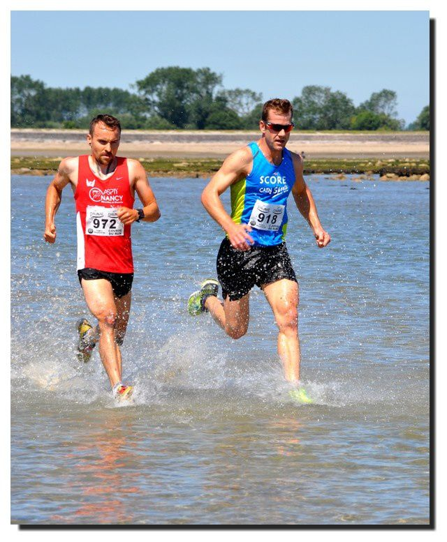 Saint Vaast la Hougue : course du Run