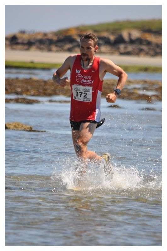 Saint Vaast la Hougue, course du Run retour