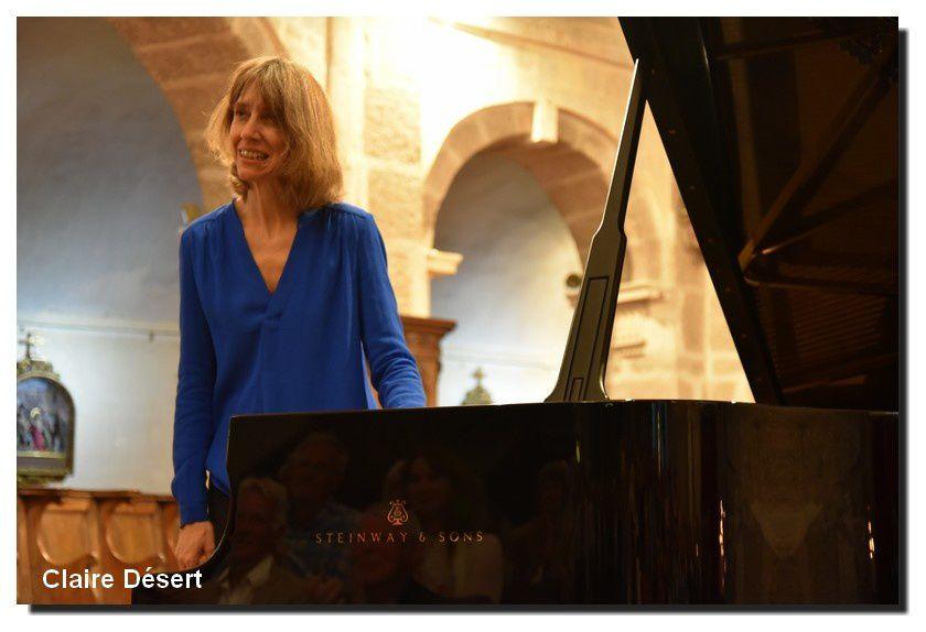 Barfleur, festival Eté musical, Récital Claire Désert
