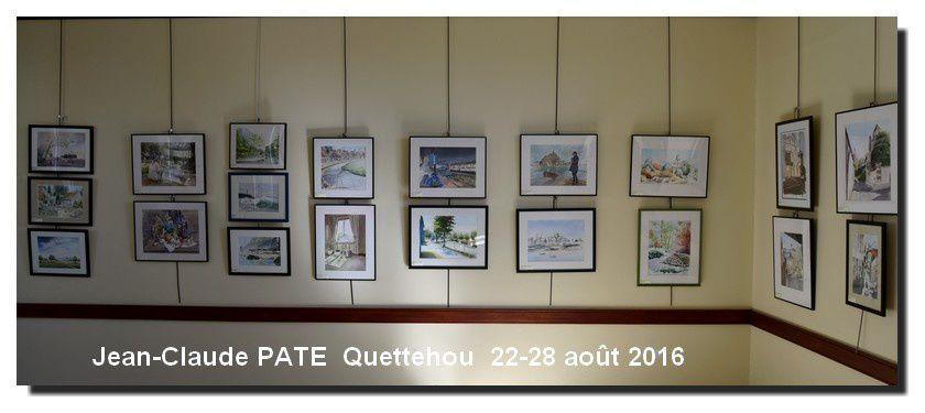 Quettehou : Arlette Lemyre et Jean-Claude PATE exposent