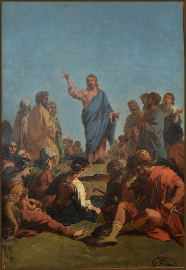 Sermon sur la montagne Eglised de Réville