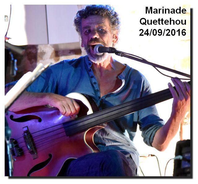 Quettehou : concert de Miranda et Marinade