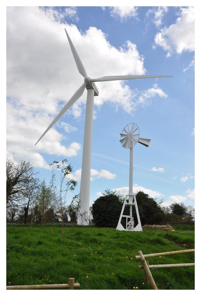 Clitourps : des éoliennes